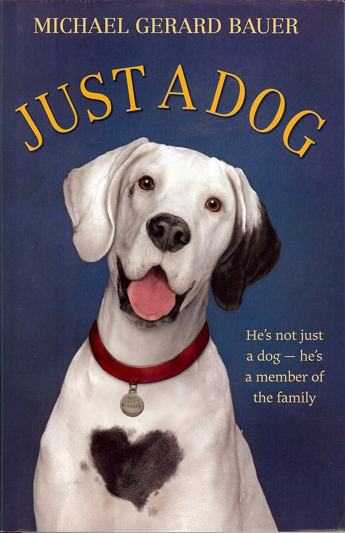 just a dog | michael gerard bauer – author