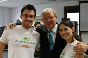 Joe & Rita & the K-Rudd