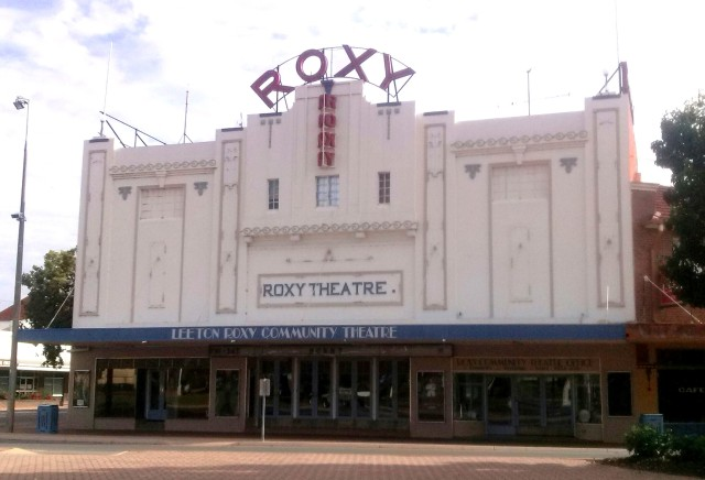 The fabulous Roxy Theatre in Leeton opened in 1930 and still operating.