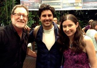 With Zarkora series authors Nicholas and Alison Lochel