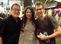 With Joe Bauer and Rita Artmann of ARTSPEAR ENTERTAINMENT